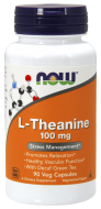 L-Theanine 100 mg Now Foods