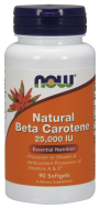 Natural Beta Carotene 25.000 IU Now Foods