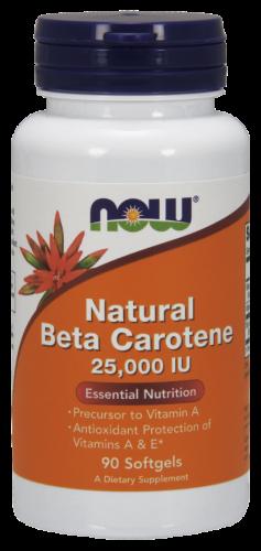Natural Beta Carotene 25.000 IU Now Foods