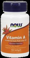 Vitamín A 10.000 IU Now Foods
