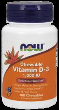 Vitamín D3 1000 IU Now Foods