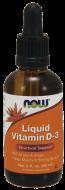 Vitamín D3 kvapky 400 IU Now Foods