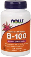B-100 Komplex 100 mg Now Foods