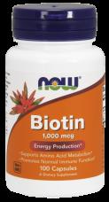 Biotin 1000 mcg Now Foods