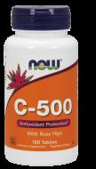 Vitamín C 500 mg a šípky Now Foods