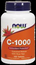 Vitamín C 1000 mg, Bioflavonoids Now Foods