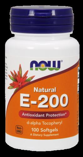 Vitamín E 200 IU Now Foods