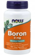 Boron 3 mg Now Foods