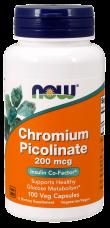 Chromium Picolinate 200 mcg Now Foods