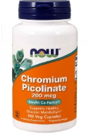 Chromium Picolinate 200 mcg Now Foods