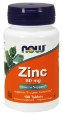 Zinok 50 mg Now Foods