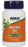 Garlic oil 1500 mg Now Foods