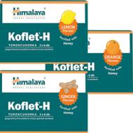 KOFLET-H pastilky na bolesť hrdla