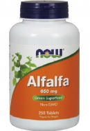 Alfalfa 650 mg Now Foods