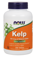 Kelp (Jód) 150 mcg Now Foods