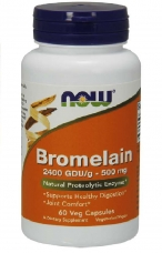 Bromelain 500 mg Now Foods