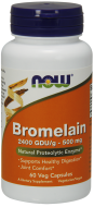 Bromelain (Bromelín) 500 mg Now Foods