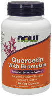 Quercetin, Bromelain 800/165 mg Now Foods