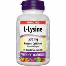 L-Lysine 500 mg Webber Naturals