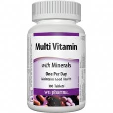 Multi Vitamin, Minerals Webber Naturals