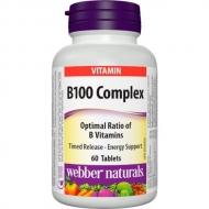 B100 Complex 100 mg Timed Release Webber Naturals