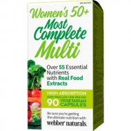 Most Complete Multi women´s 50+ Webber Naturals