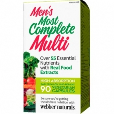 Most Complete Multi men´s Webber Naturals
