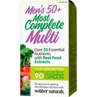 Most Complete Multi men´s 50+ Webber Naturals