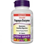 Papaya Enzyme Webber Naturals