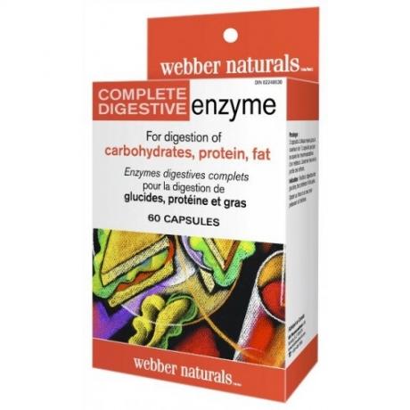 Complete Digestive Enzyme Webber Naturals