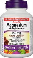 Magnesium Mineral Complex 150 mg Webber Naturals