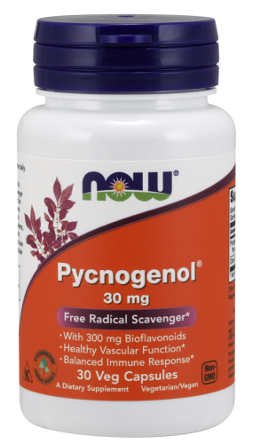 Pycnogenol 30 mg Now Foods