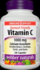C vitamin 1000 mg, Calcium Askorbate Webber Naturals