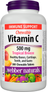 C vitamin 500 mg Tropical Breeze Webber Naturals