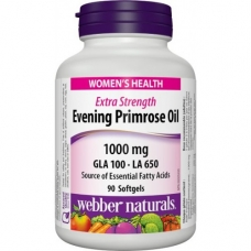 Evening Primrose Oil 1000 mg Webber Naturals