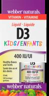 D3 vitamin 400 IU kvapky Webber Naturals