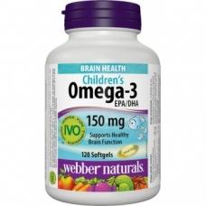 Omega-3 Children´s Webber Naturals
