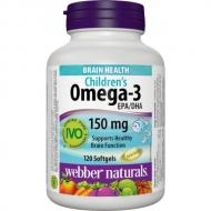 Omega-3 pre deti Webber Naturals
