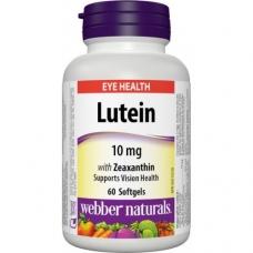 Luteín a Zeaxantín 10 mg Webber Naturals