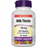Milk Thistle 150 mg Webber Naturals