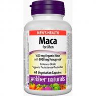 Maca for Men 1650 mg Webber Naturals