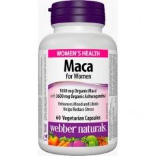 Maca for Women + Ashwagandha Webber Naturals