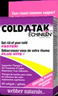 Cold-A-Tak Echinilin Webber Naturals