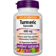 Turmeric Curcumin 600 mg Webber Naturals