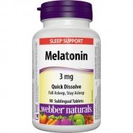 Melatonin 3 mg Webber Naturals