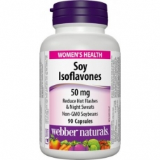 Soy Isoflavones 50 mg Webber Naturals