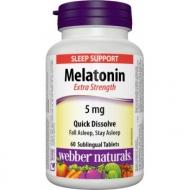 Melatonin 5 mg Webber Naturals