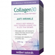 Collagen30 anti wrinkle 2500 mg Webber Naturals