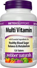 Diabetex Multivitamin Webber Naturals