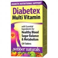 Diabetex Multi Vitamin Webber Naturals